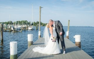 Waterfront wedding