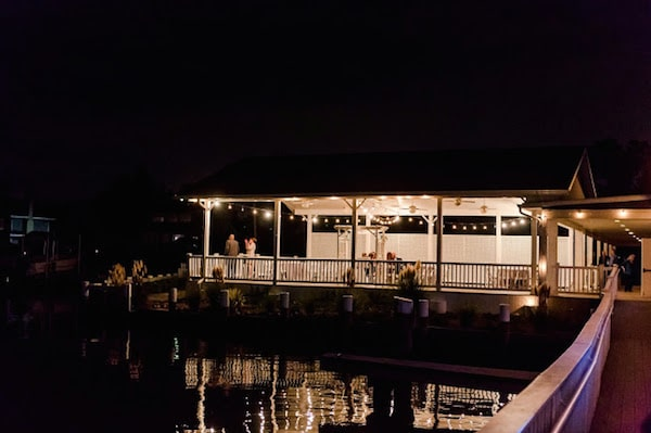 Waterfront wedding venue Chesapeake Bay